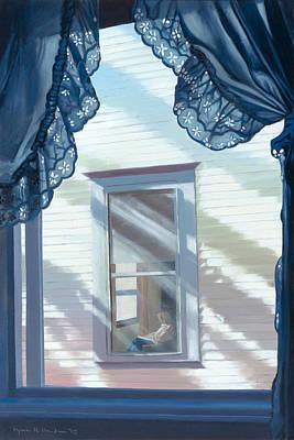 Painting - My Best Friend Lives Next Door by Lynn Hansen