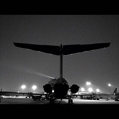 Jet Photograph - My Big Bird The Md-88 #cak #akron by Harrison Miller