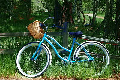 Photograph - My Bike by Tamyra Crossley