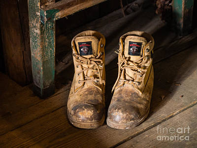 Photograph - My Boots by Robin Zygelman