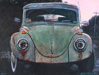 Stp Painting - My Bug by Blue Sky
