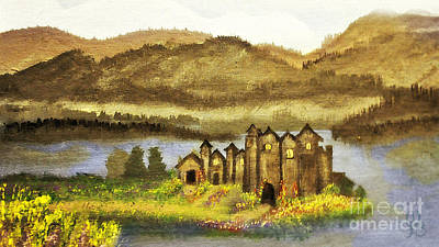 Painting - My Castle by Mindy Bench