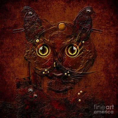 Digital Art - My Cat by Alexa Szlavics