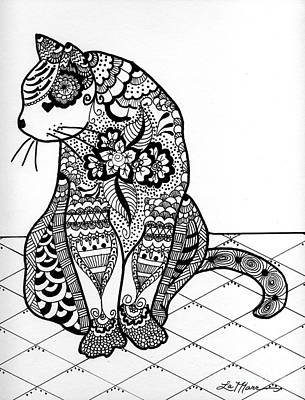 Drawing - My Cat by Lamarr Kramer