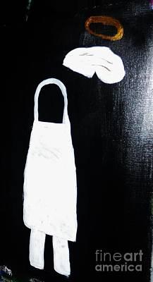 My Chef My Angel Art Print by Marie Bulger