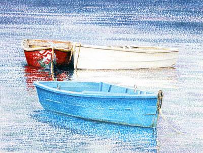 Amagansett Painting - My Childred by Lorraine LaVista