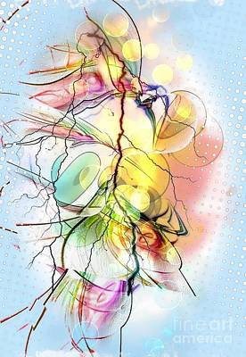 My Colors By Nico Bielow Art Print by Nico Bielow