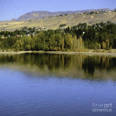 My Columbia River Print by Jean OKeeffe Macro Abundance Art