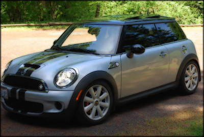Photograph - My Cooper Sport  by Kathy Sampson