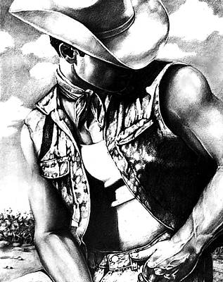 My Cowboy Man Art Print