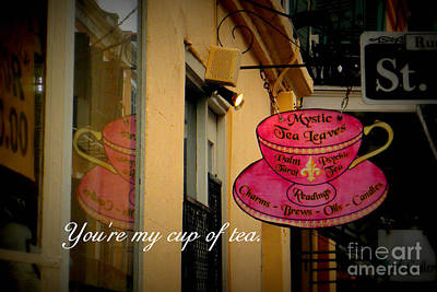 Photograph - My Cup Of Tea by Valerie Reeves