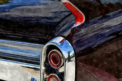 Dagmar Painting - My Daddy's Caddy by Duende Artworks