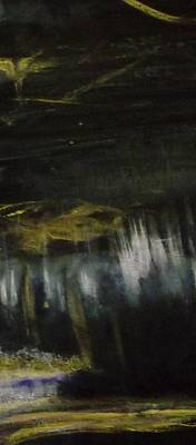 Acrylic Painting - My Dark Beautiful Mood by Karen Lillard