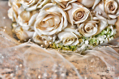 Photograph - My Daughter's Bouquet By Diana Sainz by Diana Raquel Sainz