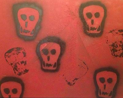 Devil At Large Art Print by Lisa Piper