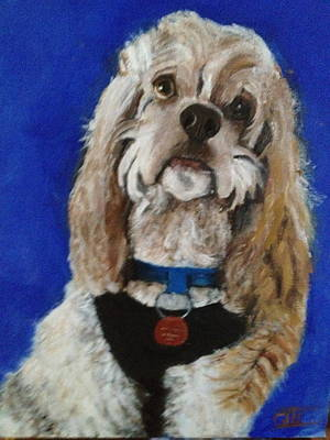 Painting - My Dog Cameo  by Giti Ala