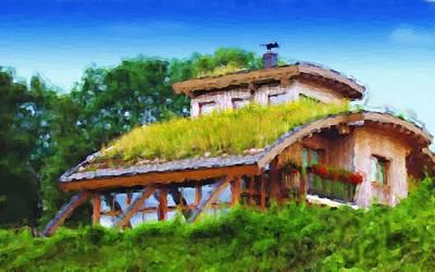 My Dream House Art Print by Gabriel Mackievicz Telles