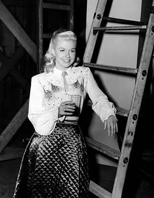 My Dream Is Yours, Doris Day, On-set Art Print
