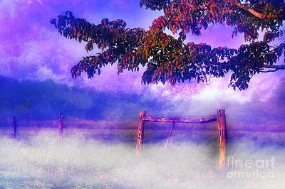 Fence Row Photograph - My Dreams Lay Beyond by Michael Eingle
