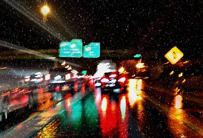 My Drive Home Art Print by Diana Angstadt