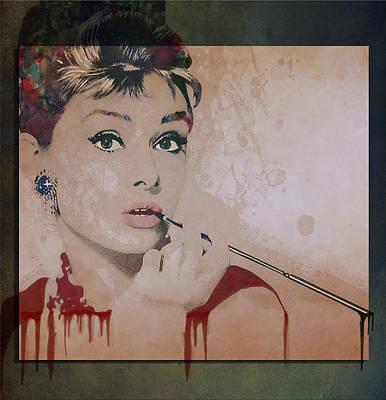 Gale Digital Art - My Fair Lady by Marie  Gale
