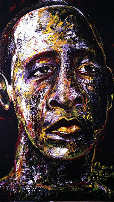 Obama Painting - My Fame In Obama by Emmanuel Boateng