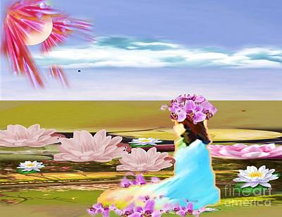 Painting - My Fantasy by Belinda Threeths