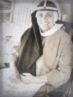 Photograph - My Favorite Catholic Nun by Joan Reese