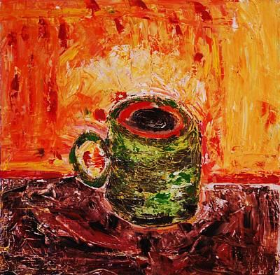 My Favorite Cup Art Print by Ian  Fruehauf
