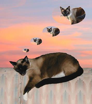 My Favorite Dream - Mouse Hunt Art Print