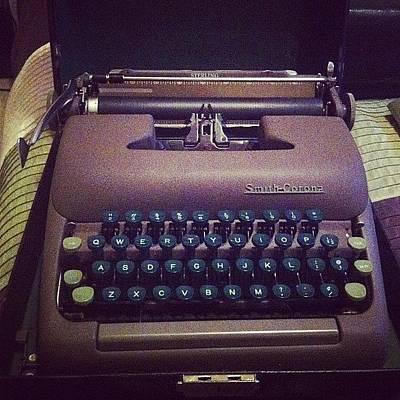 Typewriter Photograph - My Favorite Typewriter #type #tales by Chase Alexander