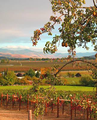 My Favorite Valley View - Autumn In Southern Oregon Art Print by Brooks Garten Hauschild