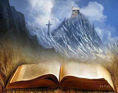 Messianic Digital Art - My Firm Foundation by Jennifer Page