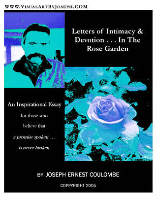 Digital Art - In The Rose Garden by Joseph Coulombe