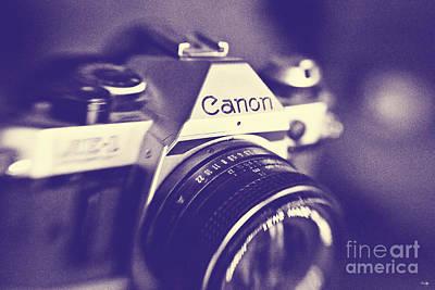 35mm Photograph - My First Canon  by Scott Pellegrin