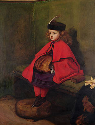 Child Portrait Photograph - My First Sermon, 1863 Oil On Canvas See Also 6118 by Sir John Everett Millais