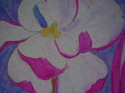 My Flower Art Print by Yvette Pichette