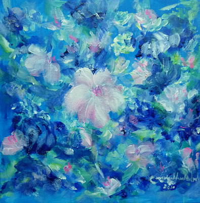 Painting - My Flowers 2 by Wanvisa Klawklean