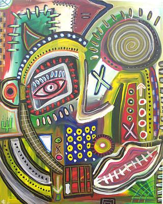 Blackart Digital Art - My Focus by Kamoni Khem