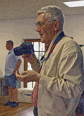 Say Cheese Photograph - My Friend Maury by Jean Hall