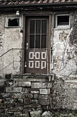 My Front Door Art Print by Miguel Winterpacht