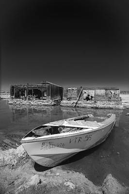 Photograph - My Front Yard Black And White by Scott Campbell