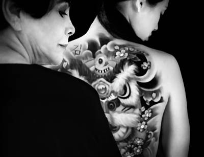 Tattoo Photograph - My Future Past by Peter