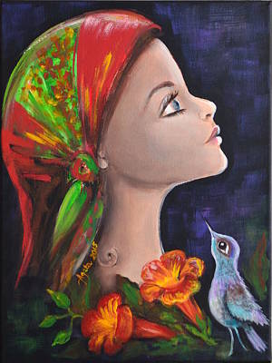 Painting - My Gipsy Soul by Agata Lindquist