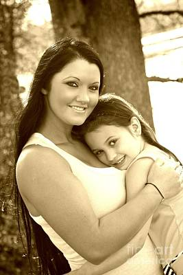 Photograph - My Girls 2 by Margaret Newcomb