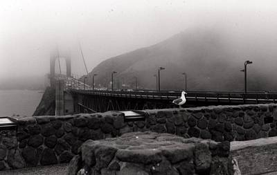 Art Print featuring the photograph My Golden Gate...... by Tanya Tanski
