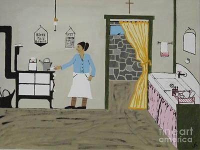 Coal Miners Wife Original by Jeffrey Koss
