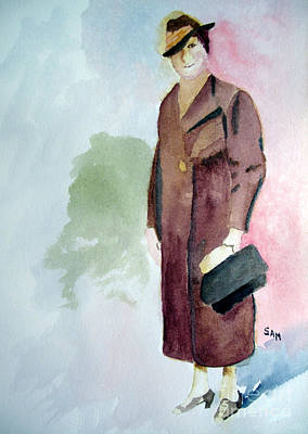 Painting - My Grandmother by Sandy McIntire