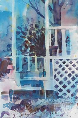 My Grandmother's Porch Print by Micheal Jones