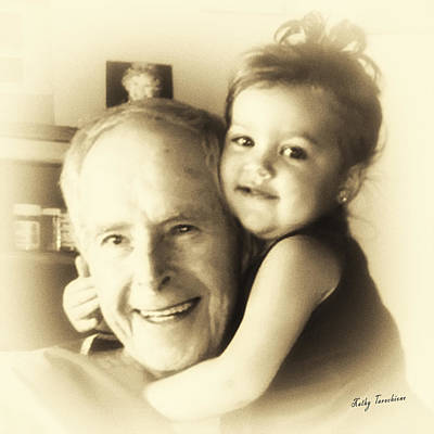 Digital Art - My Great Granddaughter  by Kathy Tarochione